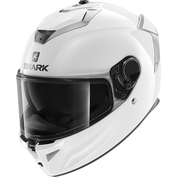 SHARK Spartan GT Blank Blanc WHU