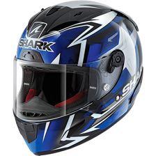 SHARK RACE-R Pro Oliveira 2019 Noir-Bleu-Blanc KBW