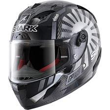 SHARK RACE-R Pro Carbon Rep. Zarco GP France 2019 Carbon-Chrome-Anthracite DUA