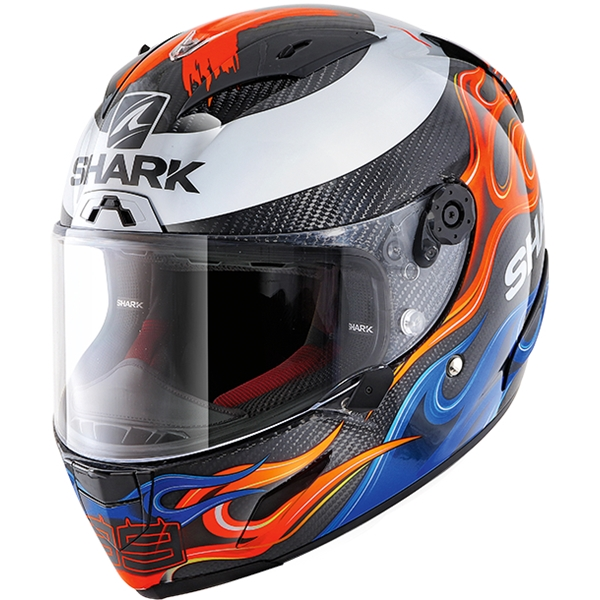 SHARK RACE-R Pro Carbon Replica Lorenzo 2019 Carbon-Bleu-Rouge DBR
