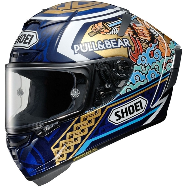SHOEI X-Spirit III Marquez Motegi 3 TC-2