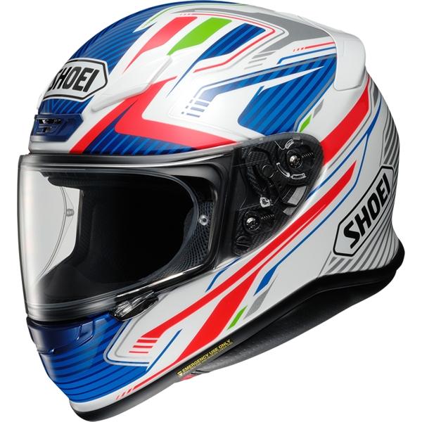 SHOEI NXR Stab Bleu-Rouge-Blanc TC-2