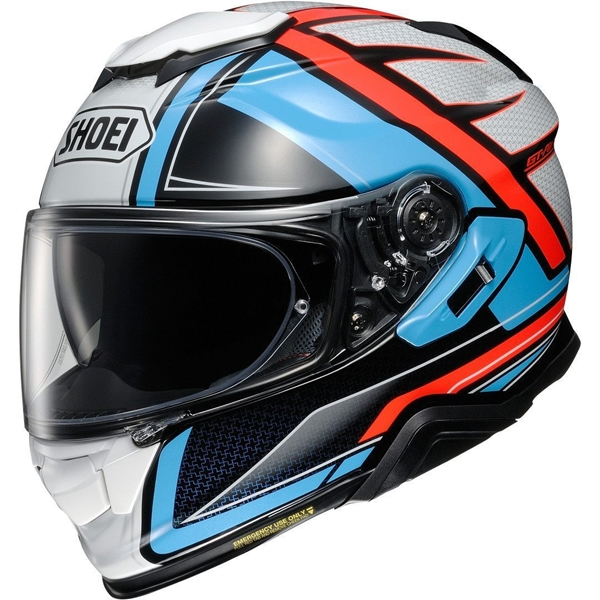 SHOEI GT-Air II Haste Blauw-Rood-Wit TC-2