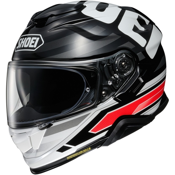 SHOEI GT-Air II Insignia Zwart-Wit-Rood TC-1