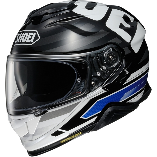 SHOEI GT-Air II Insignia Noir-Blanc-Bleu TC-2