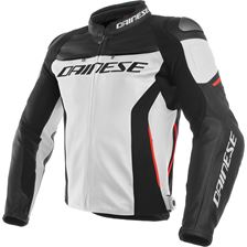 DAINESE Racing 3 Wit-Zwart-Rood