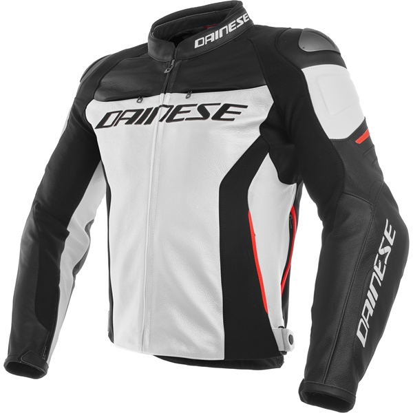 DAINESE Racing 3 Wit-Zwart-Rood