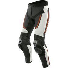 DAINESE Alpha Perf. Wit-Zwart-Fluo Rood