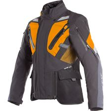 DAINESE Gran Turismo Gore-Tex® Zwart-Oranje-Ebony