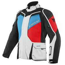 DAINESE D-Explorer 2 Gore-Tex® Gris-Bleu-Rouge-Noir