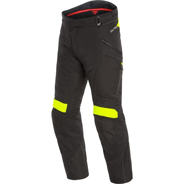 DAINESE Dolomiti Pants GORE-TEX Zwart-Fluo Geel