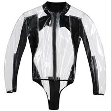 DAINESE Rain Body Racing D1 Transparent-Noir