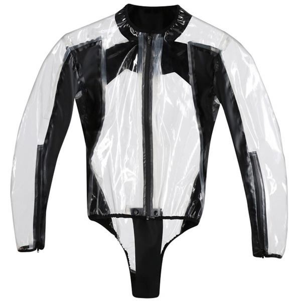 DAINESE Rain Body Racing D1 Transparent-Noir
