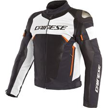 DAINESE Dinamica Air D-DRY® Zwart-Wit-Fluo Rood
