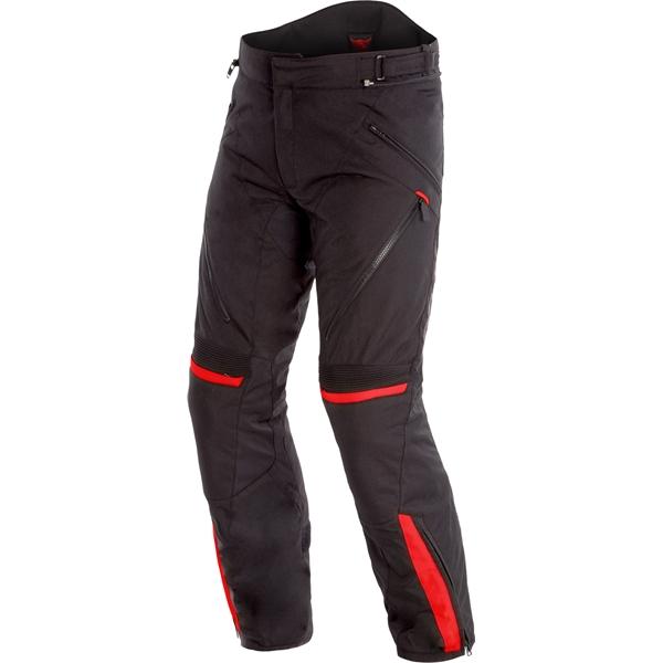 DAINESE Tempest 2 Pants D-DRY® Zwart-Rood