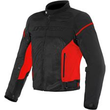 DAINESE Air Frame D1 Tex Noir-Rouge