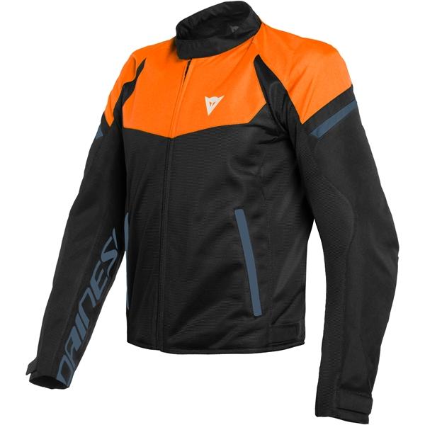 DAINESE Bora Air Tex Oranje-Zwart