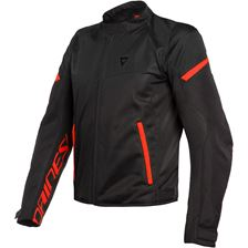 DAINESE Bora Air Tex Noir-Rouge Fluo
