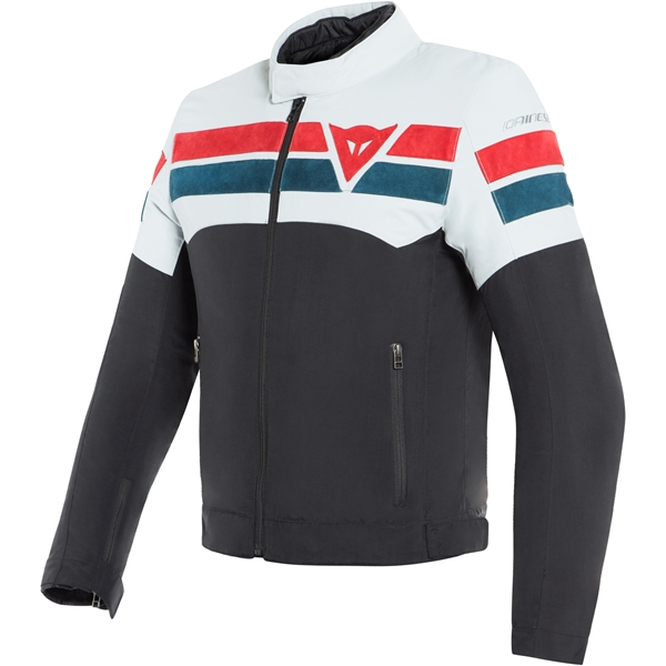 DAINESE 8-Track Noir-Glace Bleu-Rouge