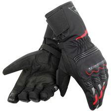 DAINESE Tempest D-DRY® Gloves Lang Zwart-Rood