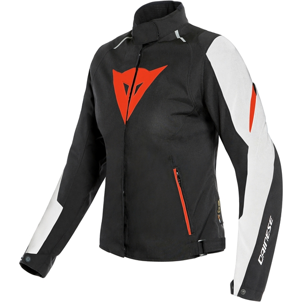 DAINESE Laguna Seca 3 Lady D-Dry® Wit-Fluo Rood-Zwart