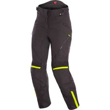 DAINESE Tempest 2 Lady Pants D-DRY® Zwart-Fluo Geel