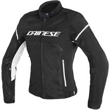 DAINESE Air Frame D1 Tex Lady Zwart-Wit