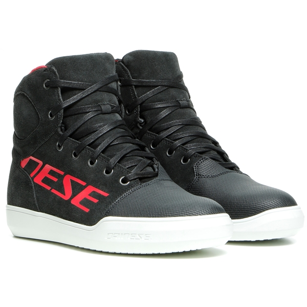 DAINESE York Lady D-WP® Shoes Carbon-Rood