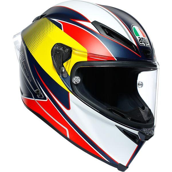 AGV CORSA R  Supersport Blauw-Rood-Geel