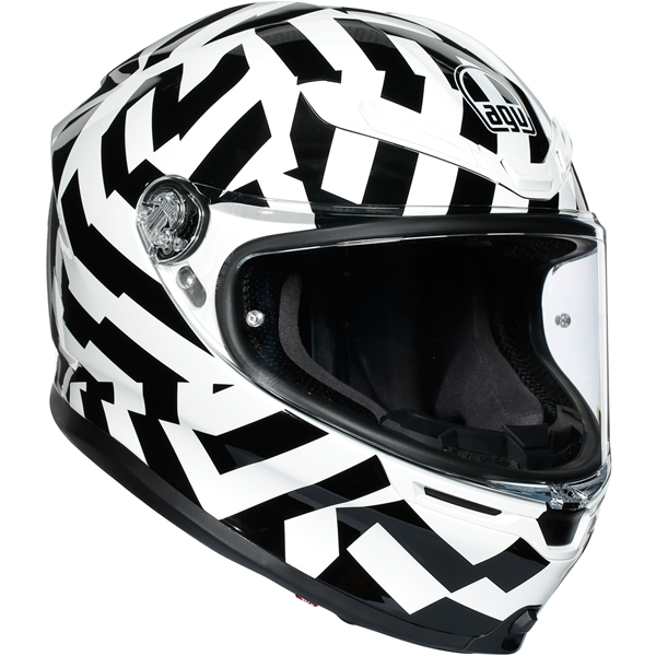 AGV K6 Secret Noir-Blanc