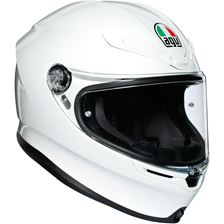 AGV K6 Mono Blanc