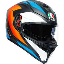 AGV K5 S Core FNoir mat-Blue-Orange