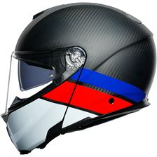 AGV Sportmodular Layer Carbon-Rouge-Blue