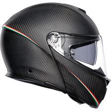 AGV Sportmodular Tricolore Tricolore Mat Carbon-Italy