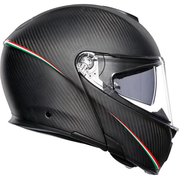 AGV Sportmodular Tricolore Tricolore Matt Carbon-Italy