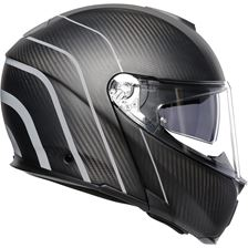 AGV Sportmodular Refractive Carbon-Zilver