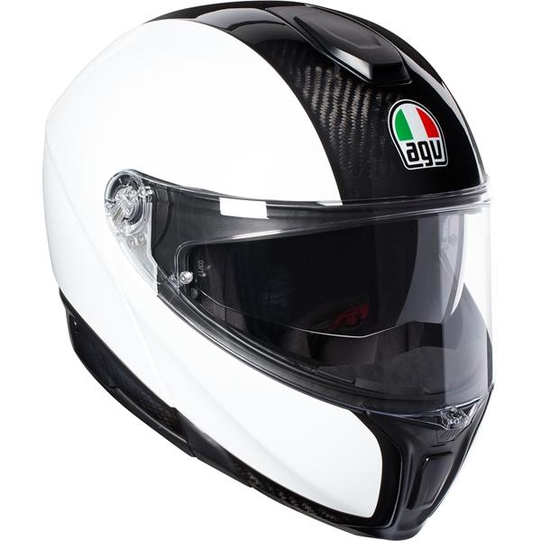 AGV Sportmodular Mono Carbon-Wit