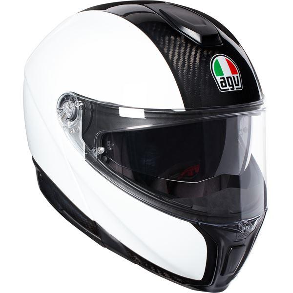 AGV Sportmodular Mono Carbon-Blanc