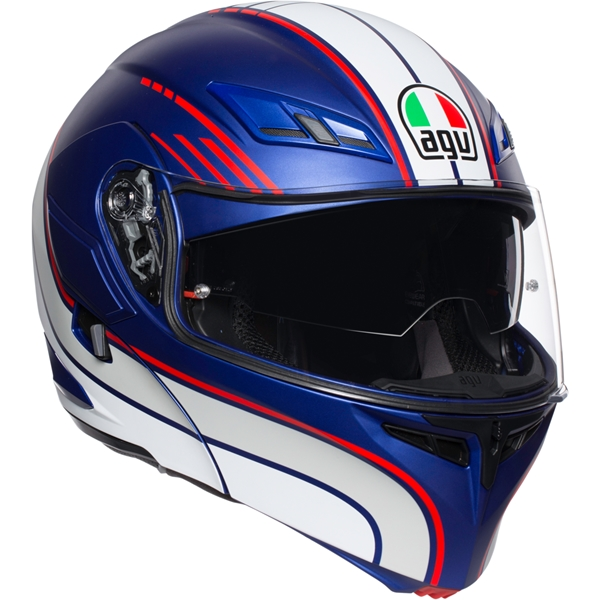 AGV Compact ST Boston Blauw-Wit-Rood