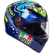 AGV K3 SV Rossi Misano 2015 Bleu-Vert-Jaune