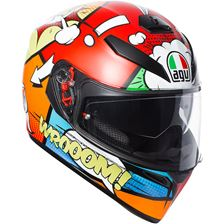 AGV K3 SV Balloon Rouge-Orange-Bleu