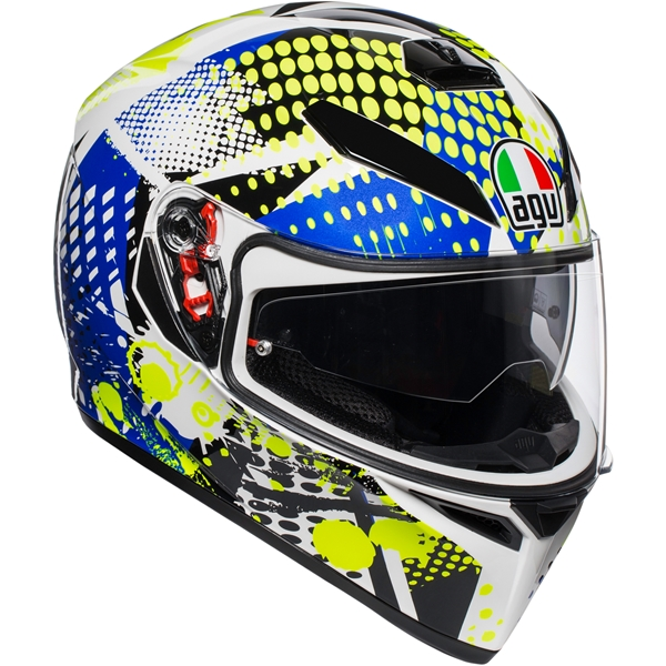 AGV K3 SV Pop K3 SV Wit-Blauw-Lime