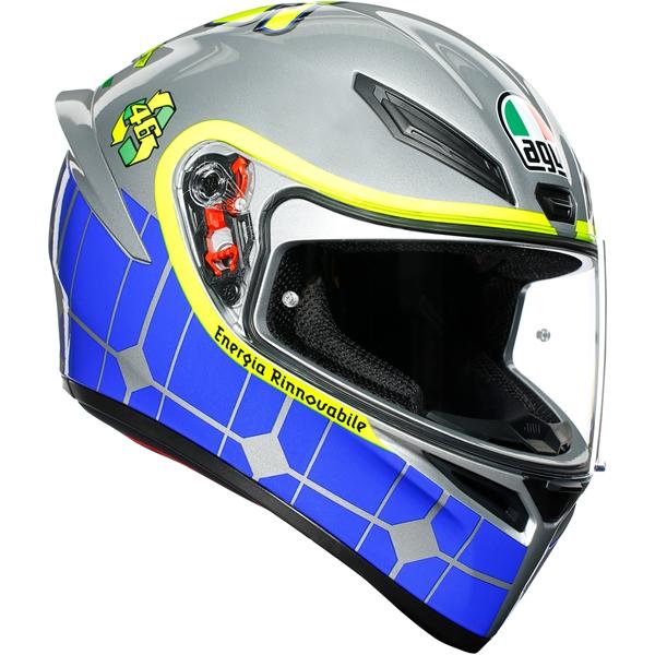 AGV K1 Rossi Mugello 2015 Grijs-Blauw-Geel