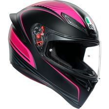 AGV K1 Warmup Noir-Rose