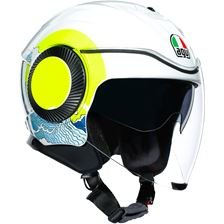 AGV Orbyt Brera Sunset Wit-Geel Fluo Sunset Wit-Geel Fluo