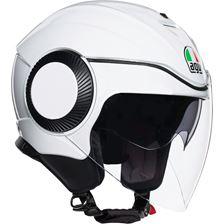 AGV Orbyt Mono Pearl Blanc