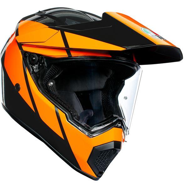 AGV AX9 Trail Gunmetal-Orange