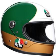 AGV X3000 Ago #1 Groen-Goud-Wit