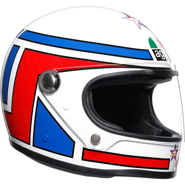 AGV X3000 Lucky Wit-Rood-Blauw