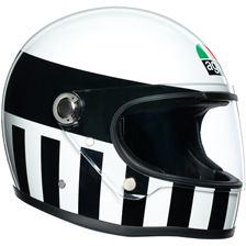 AGV X3000 Invictus Blanc-Noir Noir-Blanc